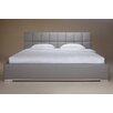 Whiteline Imports William Upholstered Panel Bed
