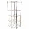 "Lavish Home Pentagon Corner 73"" Shelving Unit"