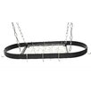 Rogar Oval Hanging Pot Rack
