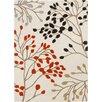 Sanderson Sanderson Beige/Poppy Floral Area Rug