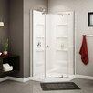 A&E Bath and Shower Nevada Neo-Angle Corner Shower Set