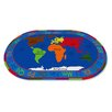 Kid Carpet All Around the World Map Kids Rug