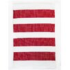 CLM Brewster Red/White Indoor/Outdoor Area Rug