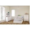 Nexera Vichy Storage Platform Customizable Bedroom Set