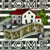 GreenBox Art Home Sweet Home by Shelly Kennedy Painting Print on Wrapped Canvas