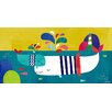 """GreenBox Art """"The Magical Sea Snuggles"""" by Kelly Angelovic Graphic Art on Canvas"""