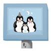 Oopsy Daisy Pitter Patter Penguins Night Light