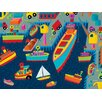 Oopsy Daisy Sea Port Canvas Art