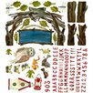 Oopsy Daisy Woodsy Arbor Peel and Place Wall Decal Set