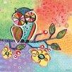 Oopsy Daisy Charmed Owl Canvas Art