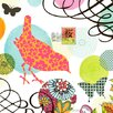 Oopsy Daisy Bird Postage Stamp Canvas Art