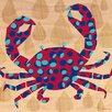 Oopsy Daisy Geo Crab Canvas Art