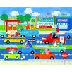 Oopsy Daisy Hit the Highway Canvas Art