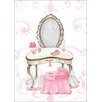 Oopsy Daisy Little Princess Vanity by Kris Langenberg Canvas Art