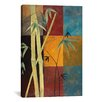 "iCanvas Decorative Art ""Bamboo"" by Pablo Esteban Painting Print on Canvas"