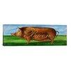"iCanvas Decorative Art ""Bacon"" by Gigi Begin Painting Print on Canvas"
