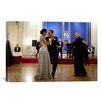 iCanvas Political Barack and Michelle Obama Dancing Photographic Print on Canvas