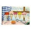 iCanvas Decorative Art Begonias A La Mode (Ice Cream Flower) Painting Print on Canvas