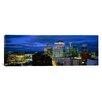 iCanvas Panoramic Buildings Lit Up at Dusk, Minneapolis, Minnesota, Photographic Print on Canvas
