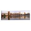 iCanvas Panoramic Brooklyn Bridge Manhattan, New York Photographic Print on Canvas