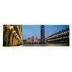 iCanvas Panoramic Cathedral Lit up at Dusk, St. Mark's Cathedral, St. Mark's Square, Venice, Veneto, Italy Photographic Print on Canvas