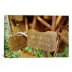 iCanvas Buddhist Locks At Puning Photographic Print on Canvas