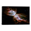 iCanvas Astronomy and Space Butterfly Nebula (Hubble Space Telescope) Photographic Print on Canvas