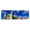 iCanvas Panoramic Building with Geometric Decorations, Minneapolis, Minnesota Graphic Art on Canvas