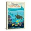 iCanvas Biscayne National Park, Florida Keys by Anderson Design Group Vintage Advertisement on Canvas