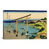 iCanvas 'Bay of Noboto' by Katsushika Hokusai Painting Print on Canvas