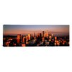 iCanvas Panoramic Skyline at Dusk, Los Angeles, California Photographic Print on Canvas