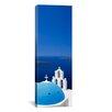 iCanvas Panoramic Firostefani Santorini, Cyclades Islands, Greece Photographic Print on Canvas