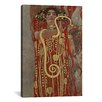 iCanvas 'Hygieia (Detail from the Medicine') by Gustav Klimt Painting Print on Canvas