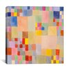 """iCanvas """"Panoramic Flora on the Sand"""" by Paul Klee Graphic Art on Canvas"""
