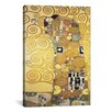 iCanvas 'Erfullung, 1905' by Gustav Klimt Painting Print on Canvas