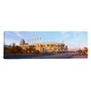 iCanvas Panoramic Baseball Stadium Jacobs Field, Cleveland, Ohio Photographic Print on Canvas