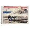 iCanvas 'Hara (Takaido)' by Utagawa Hiroshige Painting Print on Canvas