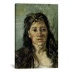 iCanvas 'Head of a Prostitute' by Vincent Van Gogh Painting Print on Canvas