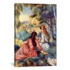 iCanvas 'In the Meadow' by Pierre-Auguste Renoir Painting Print on Canvas