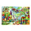 iCanvas Construction Toys Children Canvas Wall Art