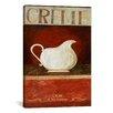 iCanvas Vintage Posters 'Creme' by Pablo Esteban Painting Print on Canvas