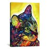 "iCanvas ""Confident Cat"" by Dean Russo Graphic Art on Canvas"