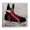 iCanvas Canada Hockey Ice Skates #4 Graphic Art on Canvas
