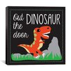 "iCanvas ""Dinosaur"" Canvas Wall Art by Erin Clark"