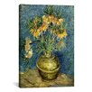 iCanvas 'Crown Imperial Fritillaries in a Copper Vase' by Vincent van Gogh Painting Print on Canvas
