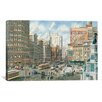iCanvas 'Detroit Looking North on Woodward' by Stanton Manolakas Painting Print on Canvas