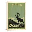 iCanvas 'Denali National Park' by Anderson Design Group Vintage Advertisement on Canvas