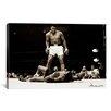 "iCanvas ""Muhammad Ali Vs. Sonny Liston, 1965"" Photographic Print on Wrapped Canvas"