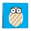 iCanvas Kids Art Owl Canvas Wall Art