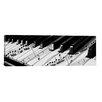 iCanvas 'Piano' Graphic Art on Canvas
